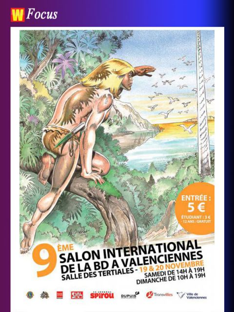 Le 9 me salon de la bd de valenciennes actualit s for Salon de the valenciennes