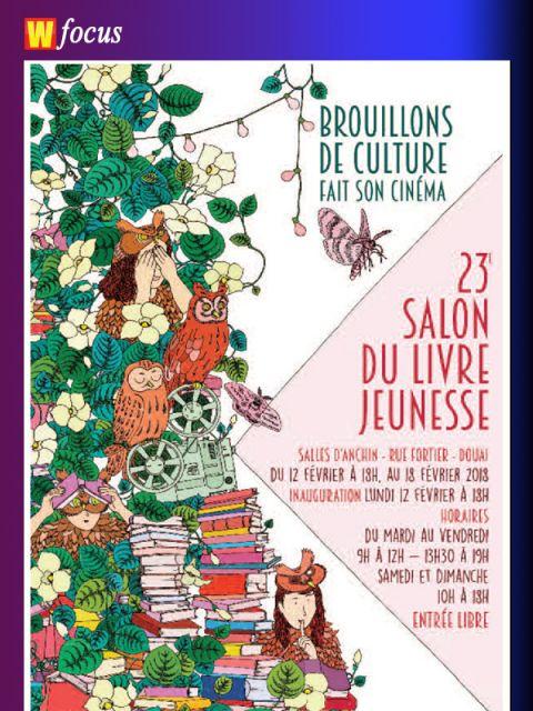 Le 23 me salon du livre jeunesse de douai actualit s - Salon du chiot douai ...