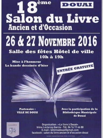 18 me salon du livre ancien et moderne de douai agenda - Salon du chiot douai ...