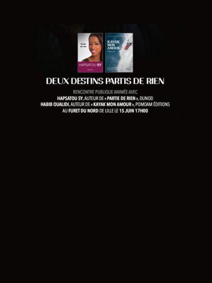 Hapsatou SY et Habib OUALIDI au Furet de Lille