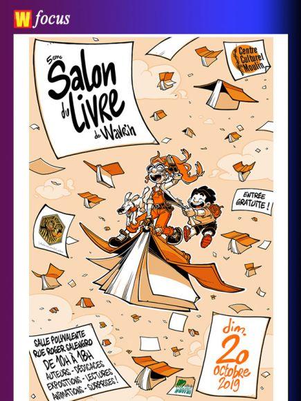 La 5eme Edition Du Salon Du Livre De Wavrin Actualites